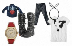 Young Fashion Maven: Bunny Ears & Leather