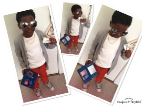 Mini Socialite: Juice Boxes & Shades