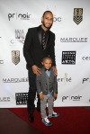 Swizz Beatz and Kaseem Dean Jr.